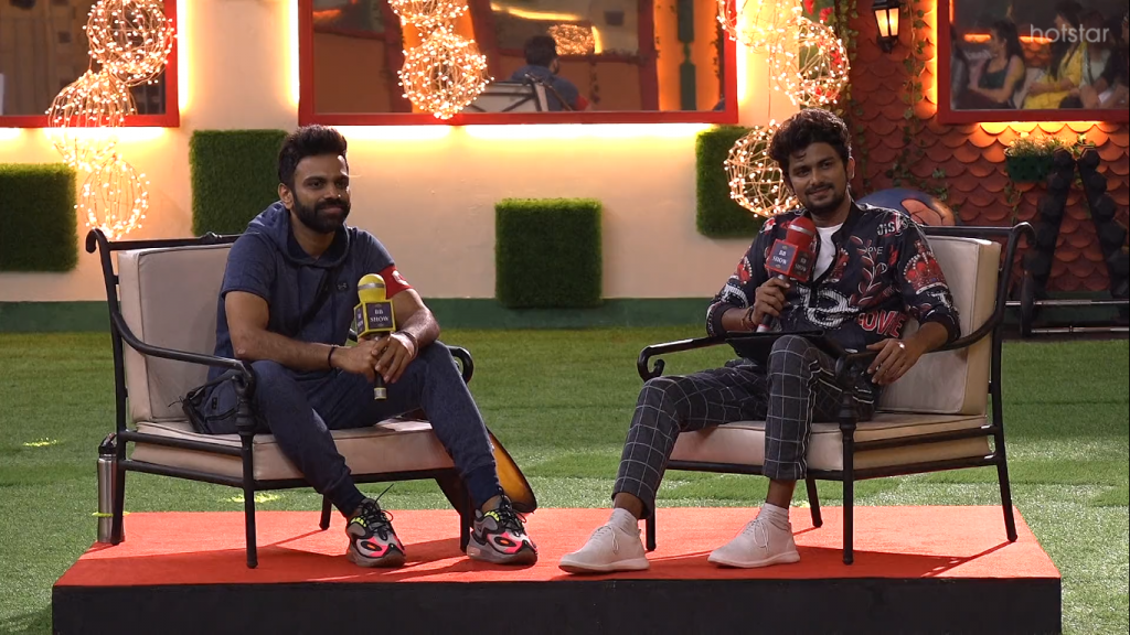 Interview in Big Boss house